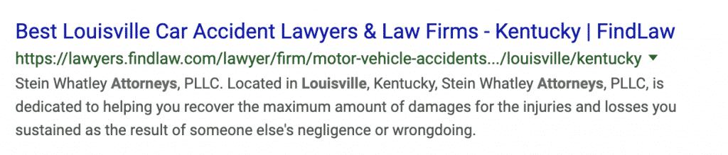 Attorney Seo Meta Description
