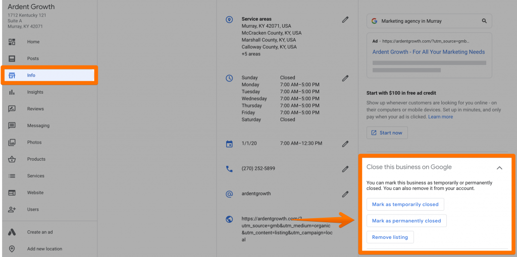 How To Remove A Google My Business Listing