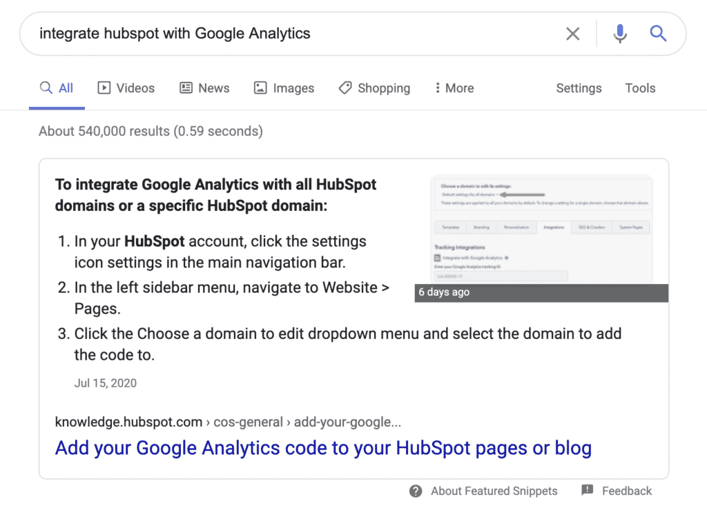 integrate email marketing tool with google analytics