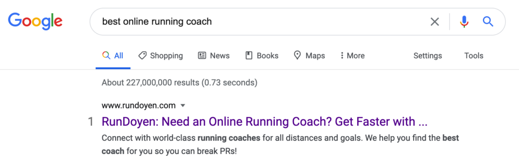Search results for best online running coach