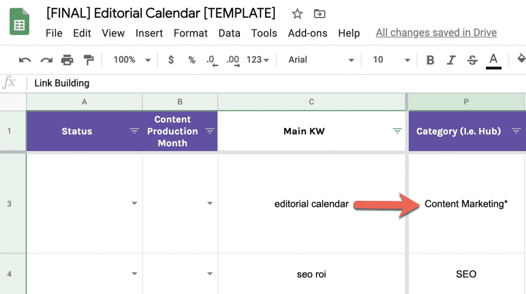 How to Build a Data-Driven Editorial Calendar for SEO [with Template] 11