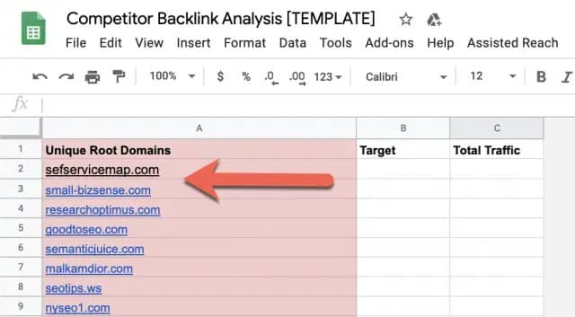How to Run a Competitor Backlink Analysis in 9 Steps [with Template] 8