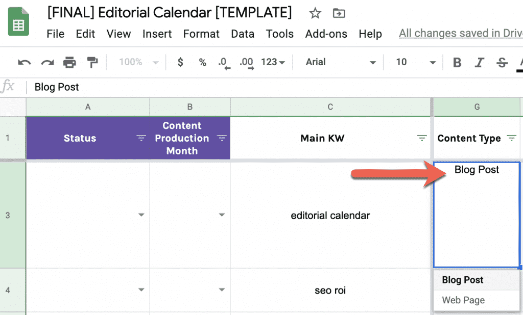 How to Build a Data-Driven Editorial Calendar for SEO [with Template] 8