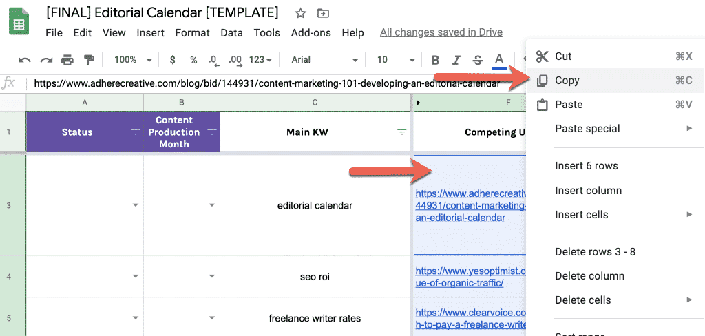 How to Build a Data-Driven Editorial Calendar for SEO [with Template] 13