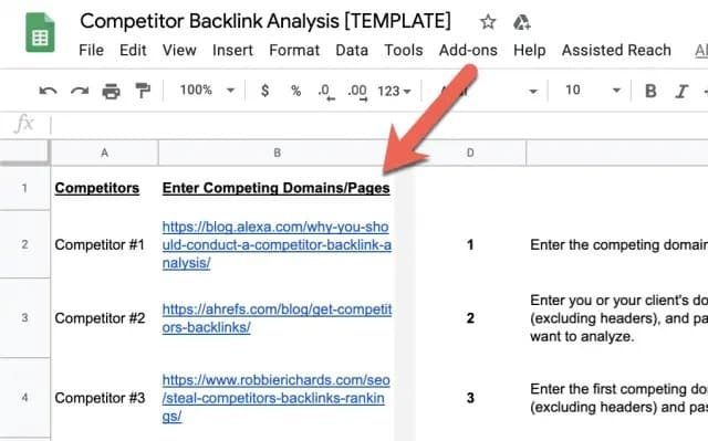 How to Run a Competitor Backlink Analysis in 9 Steps [with Template] 2