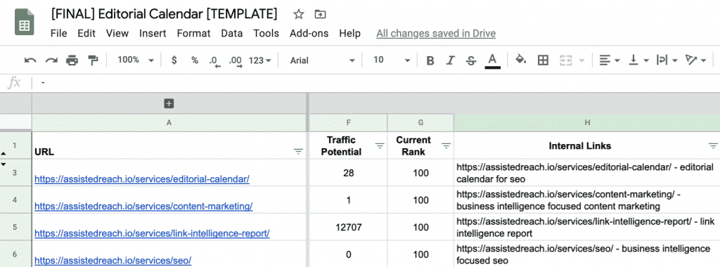 How to Build a Data-Driven Editorial Calendar for SEO [with Template] 34