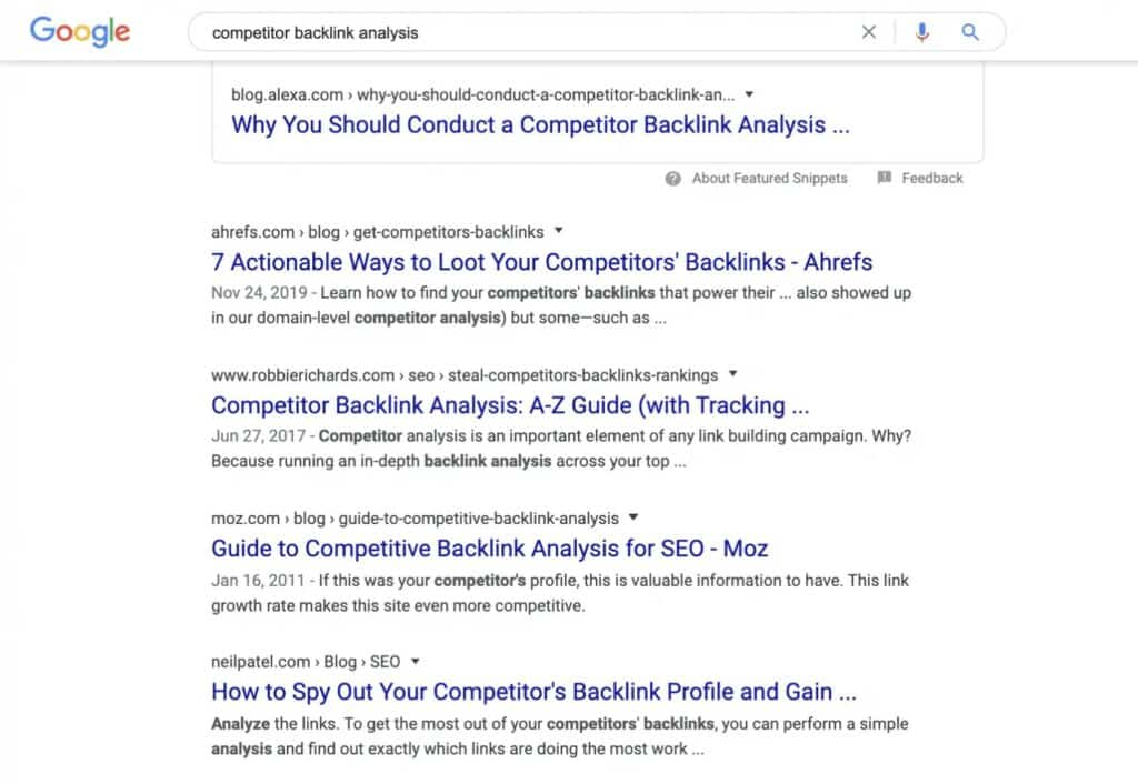 How to Run a Competitor Backlink Analysis in 9 Steps [with Template] 1