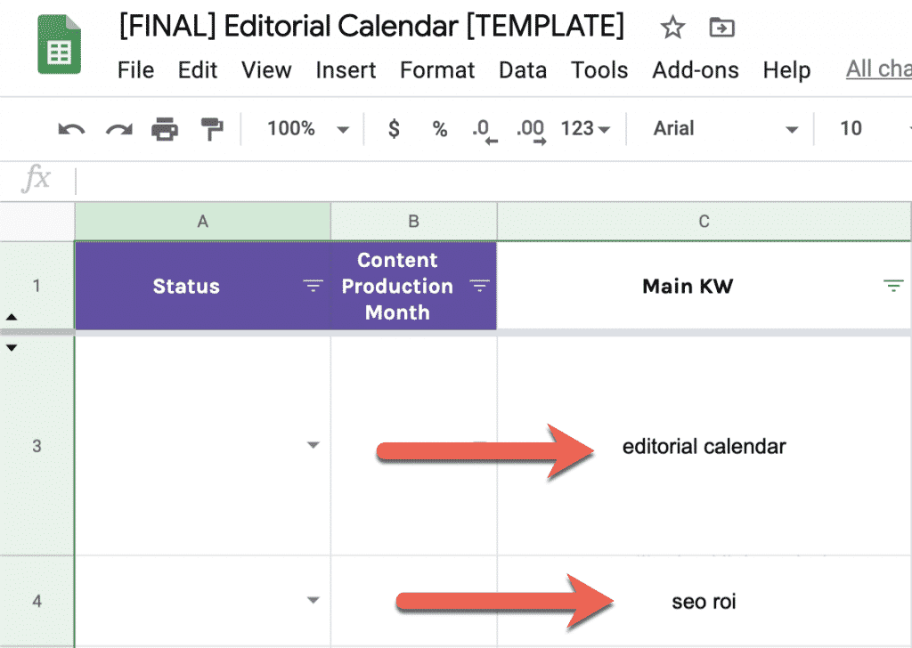 How to Build a Data-Driven Editorial Calendar for SEO [with Template] 3