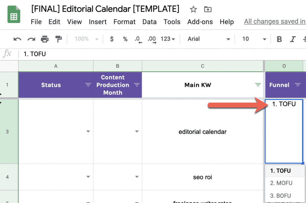 How to Build a Data-Driven Editorial Calendar for SEO [with Template] 10