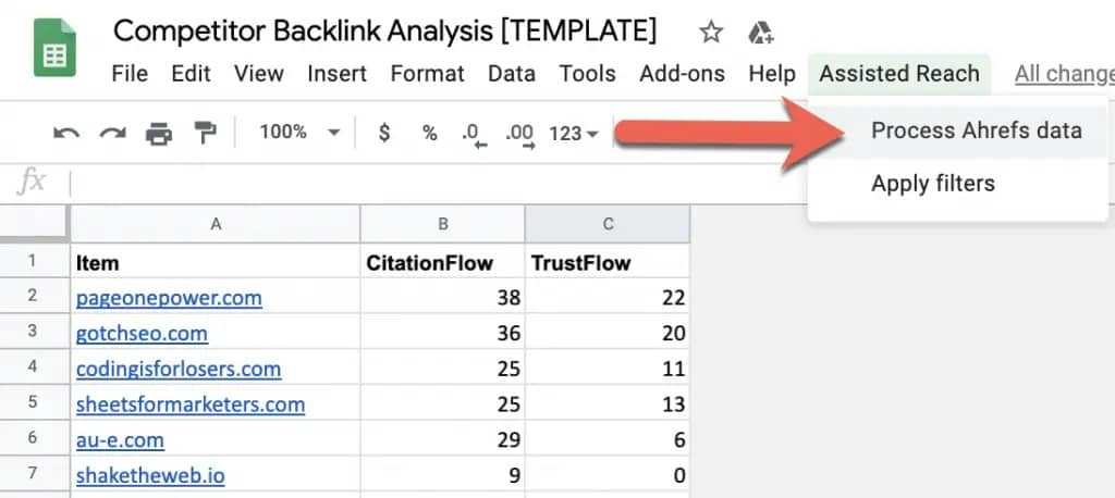 How to Run a Competitor Backlink Analysis in 9 Steps [with Template] 16