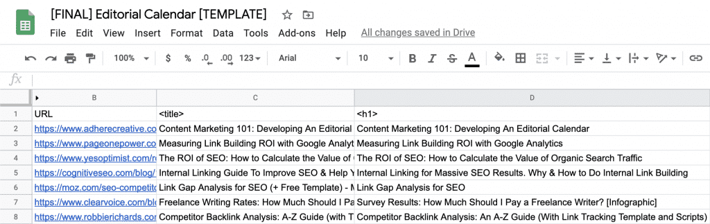 How to Build a Data-Driven Editorial Calendar for SEO [with Template] 19