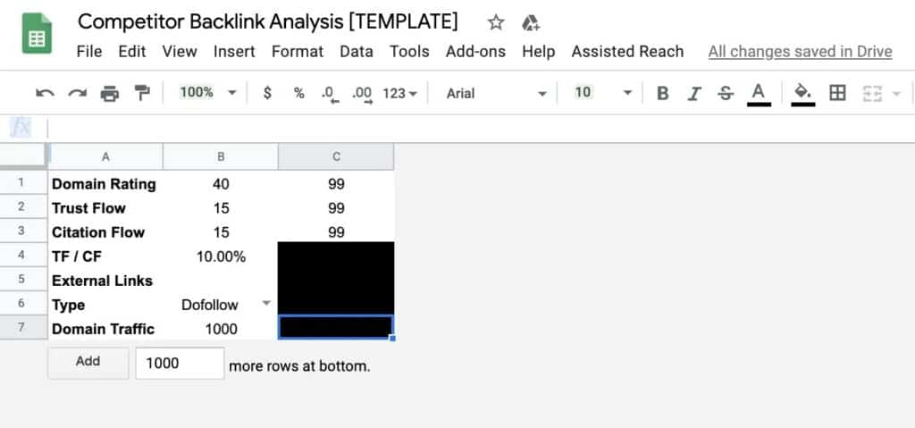 How to Run a Competitor Backlink Analysis in 9 Steps [with Template] 17